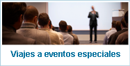 Viajes a eventos especiales